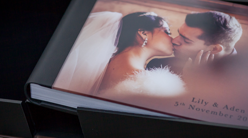 beautiful italian made wedding albums
