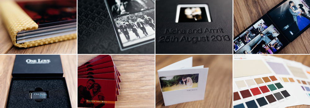 Wedding Albums and USBs