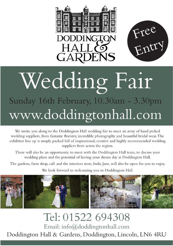 doddington hall wedding fair
