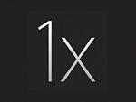 1x grey logo