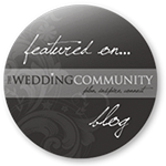 Wedding Community Blog grey logo