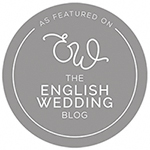 the english wedding blog grey logo