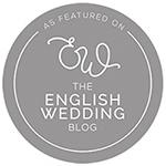 the english wedding blog grey logo