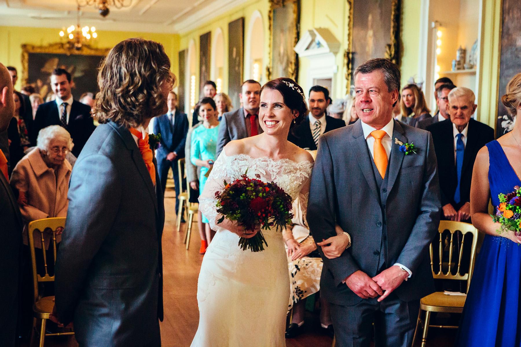 Sarah and Alex Doddington Hall Wedding