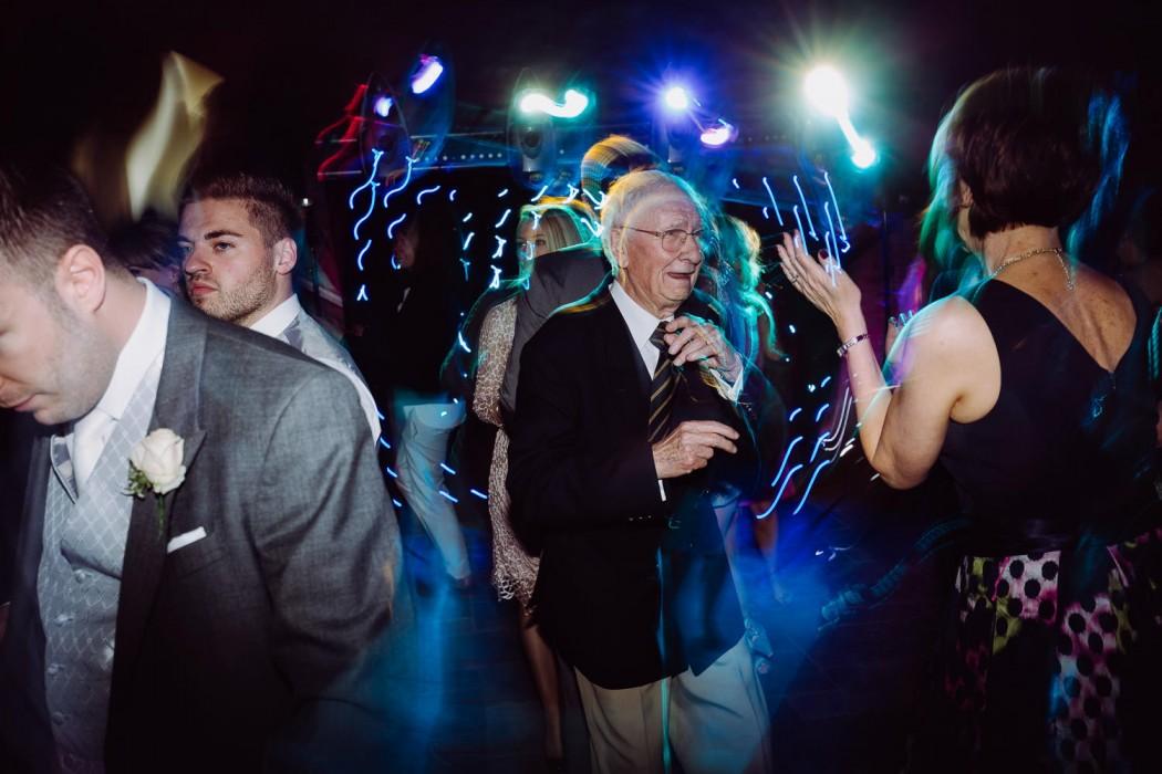 grandad on the dance floor