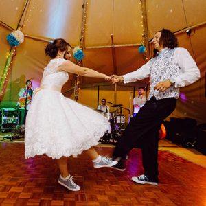 Dancing at Bawdon Lodge Farm