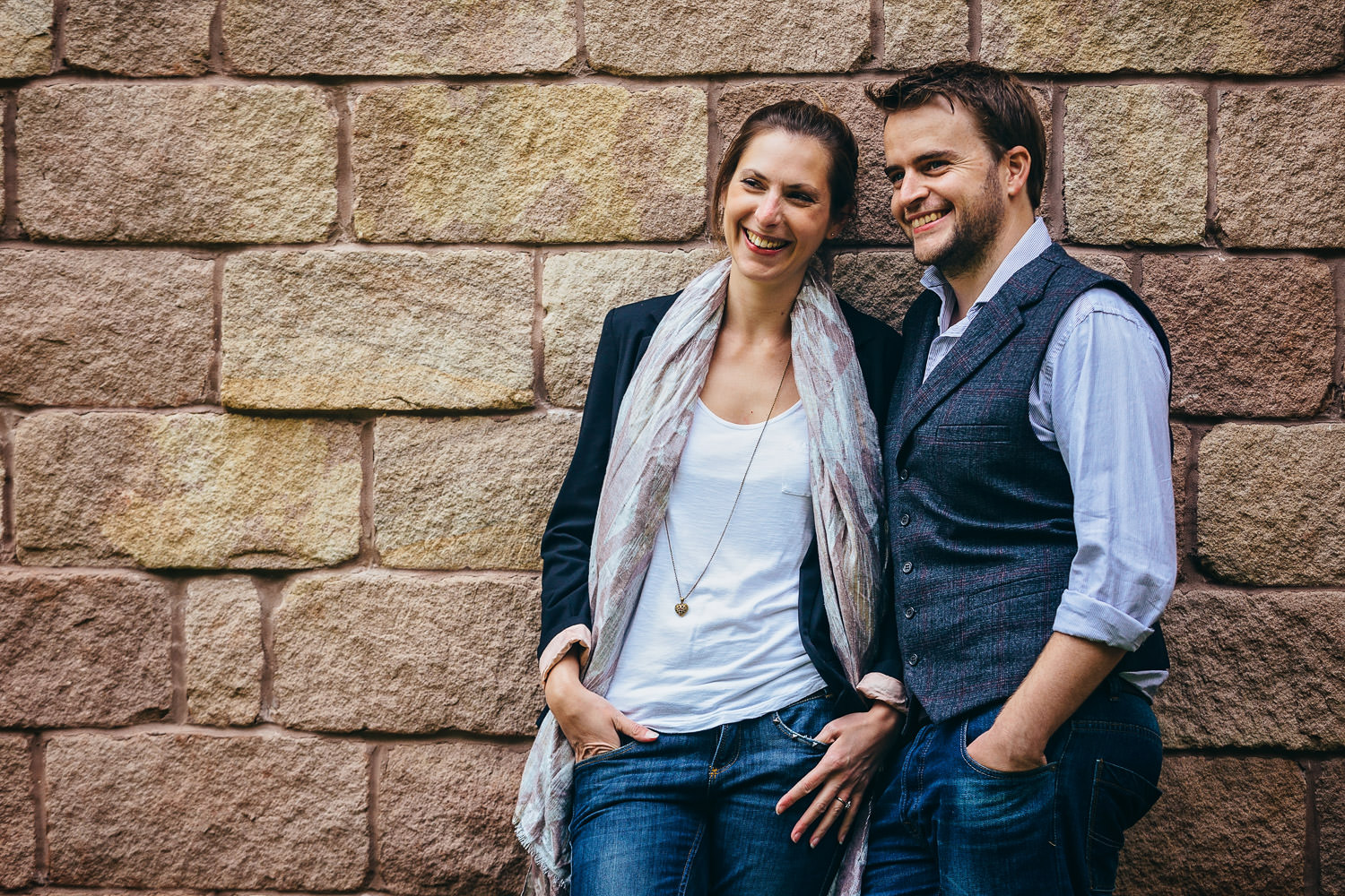 engagement session at doddington hall, lincoln