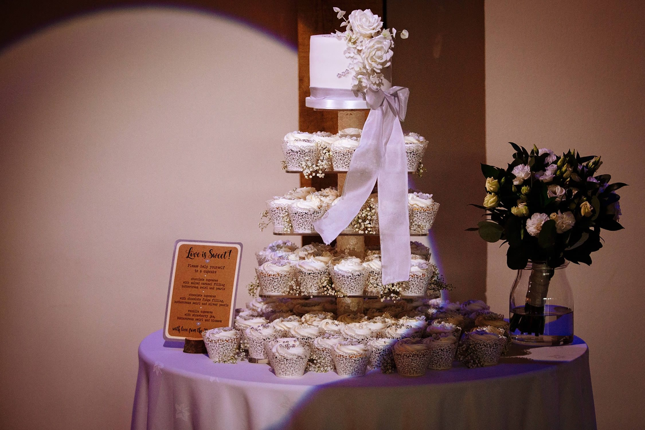 wedding cup cake stand nottingham
