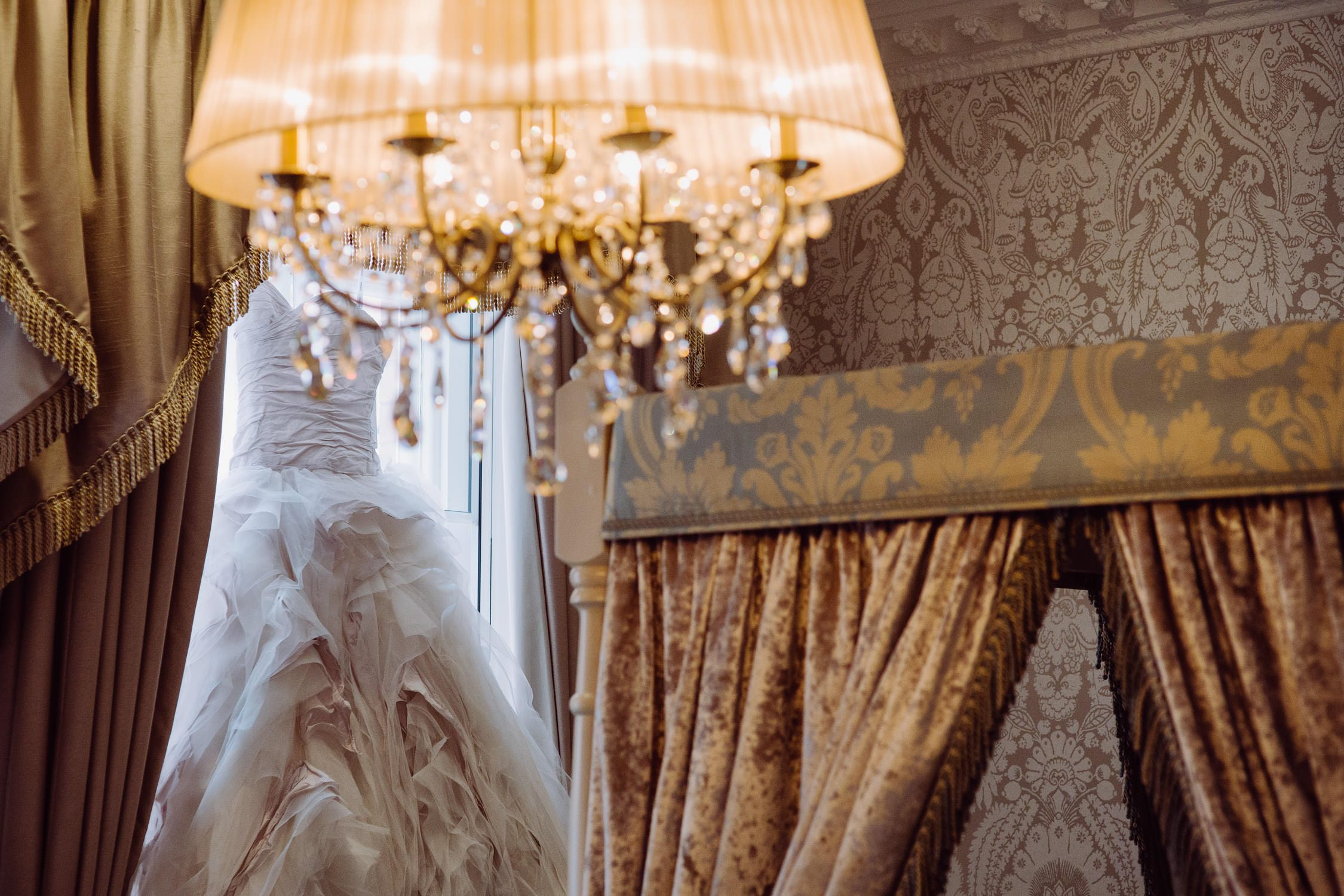 st james hotel wedding dress