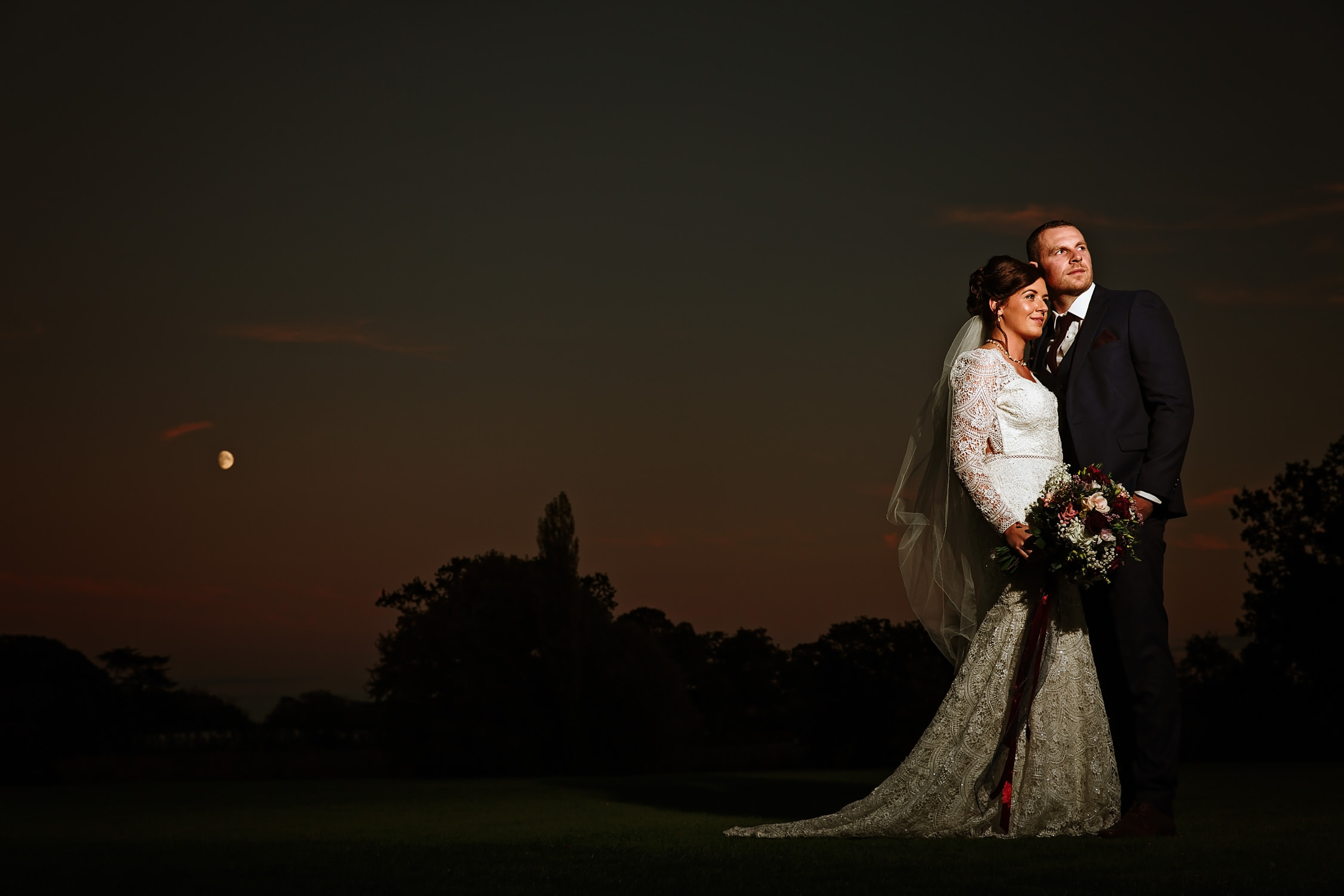Night portrait at norwood park southwell